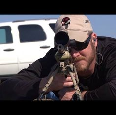 "Hats off to you ""Chris Kyle"""