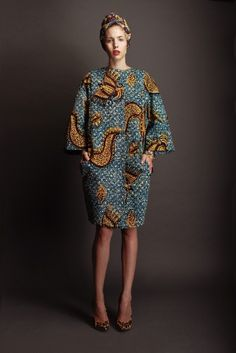 African print is having a moment. Stella Jean....x