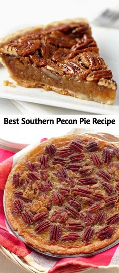 Best Southern Pecan Pie Recipe There is nothing like Homemade Southern Pecan Pie. This recipe has won baking contests! It goes perfectly with my simple Wham Bam Pie Crust! – Cocktails and Pretty Drinks Köstliche Desserts, Delicious Desserts, Dessert Recipes, Pie Recipes, Baking Recipes, Best Pie, Southern Recipes, Southern Pecan Pie Recipe, Best Pecan Pie Recipe