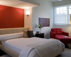 15 invigorating red bedroom designs | more red bedrooms, red