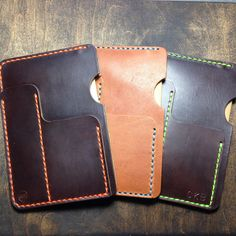 Horween Leather Sleeve for Field Notes or Moleksine by KochLeather-SR
