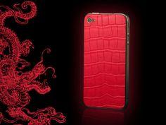 FL Luxury Product iPhone 4 red alligator dragon Iphone 4, Dragon, Phone Cases, Luxury, Hot, Leather, Dragons, Torrid, Phone Case