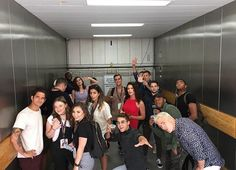 Teen Wolf: Tyler Posey, Shelley Hennig, Cody Christian, Melissa Ponzio, Charlie Carver, Dylan Sprayberry, Khylin Rambo, and Colton Haynes at San Diego Comic Con 2017 SDCC (photo via Linden's Instagram)