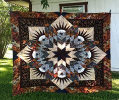 Summer Solstice, Quiltworx.com, Made by Sandy Kent and taught by CI Jan Mathews.
