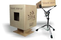 Square box drum kit