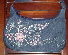 Denim purse