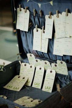 Plane Ticket Invitations, Passport Programs, and Luggage Tag Escort Cards - Pinyouare Wedding Party Invites, Wedding Vows, Wedding Stationery, Wedding Cards, Wedding Signage, Wedding Seating, Wedding Paper, Airport Theme, Gala Invitation