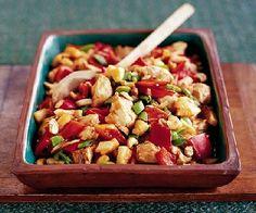 Low FODMAP Recipe - Easy sweet & sour chicken
