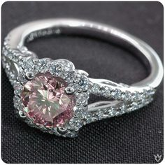 Gotta love a pink diamond/sapphire