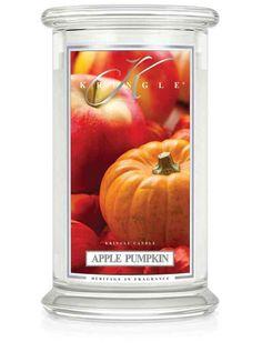 Apple Pumpkin   Large Classic Jar (22oz) 2-wick   Kringle Candle