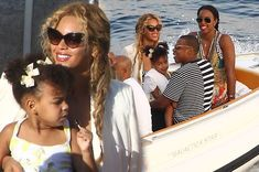 Beyonce, Jay Z and Blue enjoy luxury holiday in Italy with Kelly Rowland and her family - 3am & Mirror Online