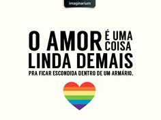 Hoje é o dia da Luta contra a Homofobia! Uma data super importante para a causa LGBT e uma ótima oportunidade pra gente avaliar nossos preconceitos, conversar sobre o assunto e passar a bandeira do amor adiante <3