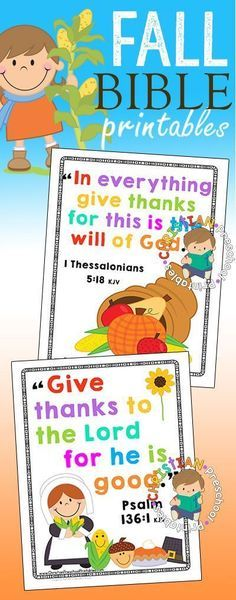 """Thanksgiving crafts and printables toenhance your, """"I am Thankful"""" bible…"""