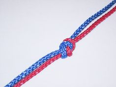 Two Strand Overhand Bend Knot