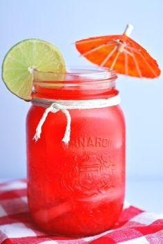 Raspberry Vanilla Lemonade
