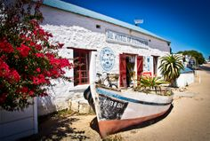 bright and cheery Seascape Paintings, Oil Paintings, Most Beautiful Beaches, Beautiful Places, Interesting Photos, Cool Photos, West Coast Fishing, Fishermans Cottage, Provinces Of South Africa