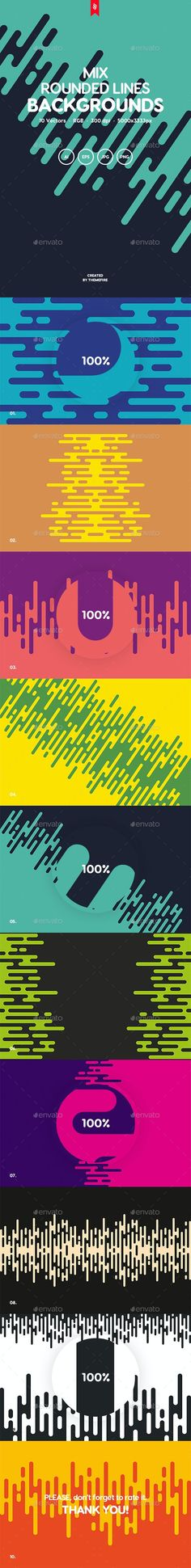 Mix - Irregular Rounded Lines Backgrounds by themefire   GraphicRiver Abstract Backgrounds, Wallpaper Backgrounds, Colorful Backgrounds, Line Background, Background Images, Family Holiday Destinations, Funny Character, Tumblr Wallpaper, The Good Old Days