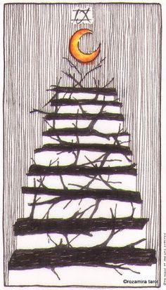 Wild Unknown Tarot - Nine of Wands