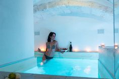 Entire home/apt in Ostuni, Italy. Casa Giusti with indoor pool for rent is a small parallel world, in total harmony with the senses, suspended between extreme luxury and charm of traditions.  From the prestigious name of an ancient street in the historical center of Ostuni, was