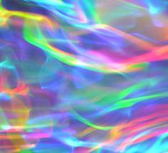 Iridescent rainbow abstract.