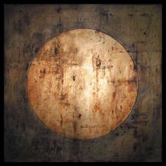 Tanya Bonello, Golden sphere, 400x400mm, gypsum, gold leaf and oil on board, 2009