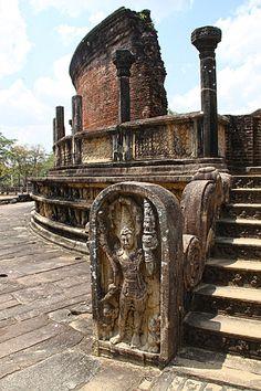 Guard Stone - Polonnaruwa, Sri Lanka