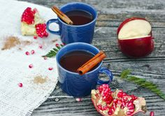 Mulled Pomegranate Cider | 17 Wonderfully Warm And Cozy Mulled Drinks