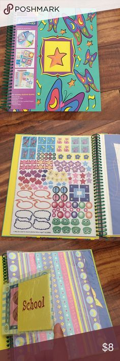 Craftlogic Scrapbook & Memories compete kit. NWOT Craftlogic Scrapbook & Memory complete kit. Kit includes Archival Quality - punch art, frames and tags, stickers, book with 10 top-loaded pages, borders and diecut tiles. CraftLogic Other