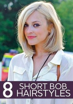Short hair is taking over! 8 short bob hairstyles to take to the salon.