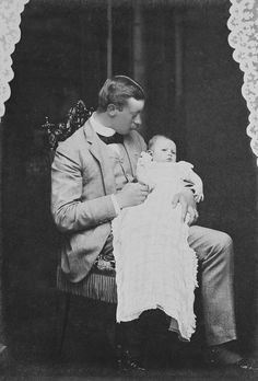 Prince Henry of Prussia and his son, Prince Waldemar, 1889 [in Portraits of Royal Children Vol.37 1888-1889] | Royal Collection Trust