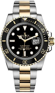 Rolex Oyster Perpetual Submariner Date 116613 Rolex http://www.amazon.com/dp/B013L550V4/ref=cm_sw_r_pi_dp_aJuWwb07ZGJPD