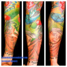 Tattoo #JeremiahHanzey #StainedSkinSecondSkin