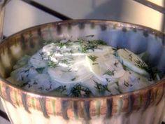 Cold Cucumber Salad - Paula Deen