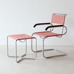 B34 chair | Marcel Breuer | @bingbangnyc