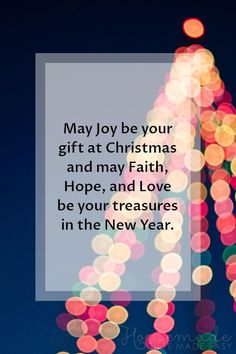christmas greetings may joy be your gift at christmas and may faith hope