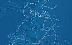 Analysis infrastructure Dutch coast by Sonja Kuijpers, via Behance