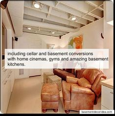 One Of The Most Important Things To Consider When Remodeling Your Basement  Is The Basement Ceiling. People Find Basement Ceilings A Bit Hideous And If  You ...