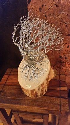 Large Steel windswept on Ash. Metal Tree, Ash, Soups, Art Pieces, Wire, Steel, Create, Projects, Design