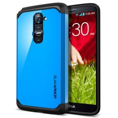 SPIGEN SGP LG G2 Case Slim Armor เคส สำหรับ LG G2 สีฟ้า (Dodger Blue) - คลิกที่นี่เพื่อดูรูปภาพใหญ่