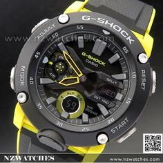 Casio G-Shock Carbon Core Guard Structure Watch Expensive Watches, Casio Watch, Clothing Ideas, Watches For Men, Core, Clocks, Wristwatches, Gents Watches