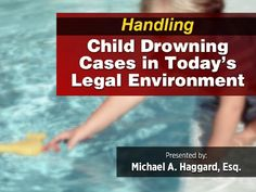 69% of the children involved in water submersion incidents occurred in a pool owned by the victim's immediate family and 33% of the incidents occurred in the pools owned by relatives or friends- Click for the full presentation