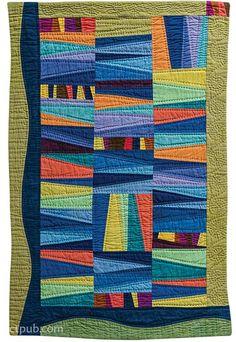 Artful Improv: Explore Color Recipes, Building Blocks & Free-Motion Quilting by Cindy Grisdela