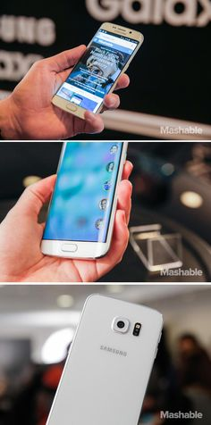 Samsung has unveiled its new flagship smartphones, the Galaxy S6 and Galaxy S6 Edge. Oh look my new phone