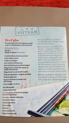 Slimming world beef pho