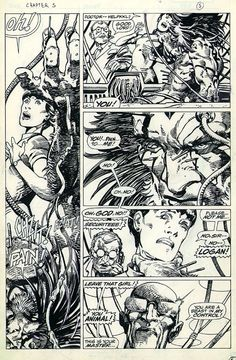 Barry Windsor-Smith : Wolverine-Weapon X.