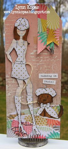 just my style: National Scrapbook Day and New Prima Doll Tags!