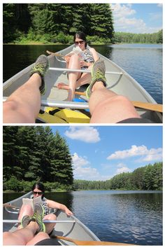 #30 - Read while drifting in a canoe. #100Thignsin2013