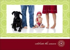 This website features about 20 different ideas for Christmas cards including: couples only, kids, family, and pets.