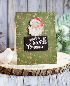 Houses Built of Cards: Have a Swell Christmas - Simon Says Stamp Holiday Card Kit