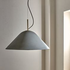 Buy Design Project by John Lewis Ceiling Pendant Light, Concrete/Brass from our View All Design range at John Lewis & Partners. Ceiling Pendant, Ceiling Lights, All Design, John Lewis, A Table, Design Projects, Concrete, Dining Room, Brass